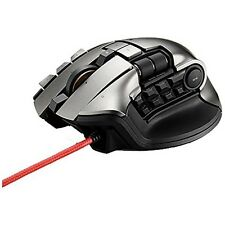 Elecom M-DUX70BK MMO Gaming Mouse / 2PC operation / 19 buttons / 5000dpi