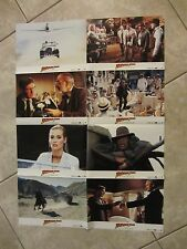 INDIANA JONES and the LAST CRUSDAE lobby cards  HARRISON FORD