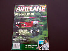 VINTAGE MODEL AIRPLANE NEWS MAGAZINE SEPTEMBER 1998  R/C PLANES  *VG-COND*