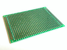 Perfboard 80x60 mm | Pitch 2.54 mm | Double Sided | FR-4