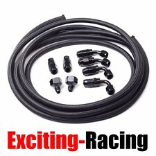 Fuel/Gas AN10-AN6 10 AN Fittings+Braided Oil Feed Fuel injection Line/Hose Kit
