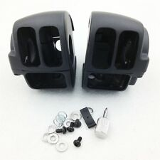 Switch Housings Cover For 2009 later Dyna Sportsters Softail V-Rod Black