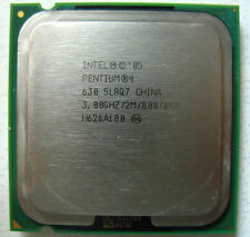 Intel Pentium 4 CPU 3.0 GHz / 2M / 800 Mhz 630 LGA 775 socket supporting HT tec