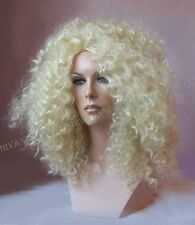 Diana Ross Style Light Blonde Afro Spiral Curls Fizz  Wig/wigs