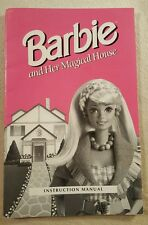Barbie and Her Magical House Instruction Manual Guide for Computer Game