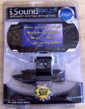 NEW Factory seaed i.SOUND PSP 1000 SPEAKER SYSTEM WITH STAND i sound Dream Gear