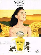 PUBLICITE ADVERTISING 064  1996  HERMES   SOIE DE PARFUM  CALECHE