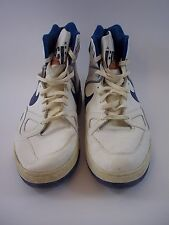 Rare Vintage 1988 Nike Air Force Size 14-1/2 White/Blue 19880607FT2 Orange ball