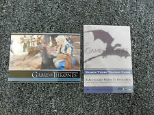 2014 Spring Non Sports Philly Card Show Game of Thrones Season Three Promo P4