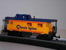 HO  SCALE CHESSIE SYSTEM STANDARD 3 WINDOW CABOOSE BY IHC / CHESSIE CABOOSE