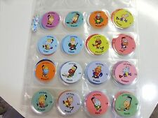 POGS ICE KAPS HOCKEY COMPLETE SET OF ALL 48 RARE AND  AWESOME