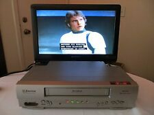 Emerson EWV403A DA-4 Head VCR VHS Video Player Recorder w/ Remote Batts & Cable