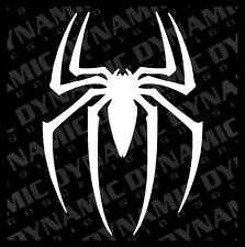 Large Spider Man sticker Super hero comics logo symbol Vinyl car truck Decal