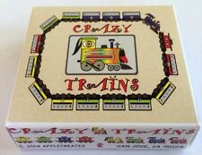 Crazy Trains Card Game:  Brand New First Edition. Great Unique Gift For All.