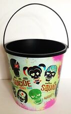 DC Comics Suicide Squad Movie Theater Exclusive 130 oz Plastic Popcorn Tub