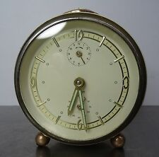 "Antiker mechanischer Wecker Junghans  "" 2-Ton "" ~50er antique alarm clock 50's"