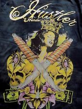 Org.Made in USA 2 SIDED Hustler Hardcore Since'74 T-Shirt Adult Entertainment XL