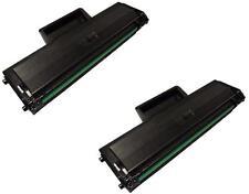 NON-OEM 2 PK TONER CARTRIDGE FOR SAMSUNG MLT-D104S ML1865 SCX3200 SCX3205 ML1660