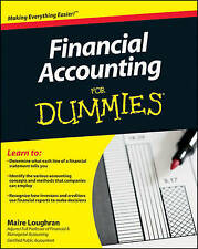 Financial Accounting For Dummies by Maire Loughran (Paperback, 2011)