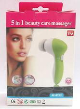 5 in 1  FACIAL MASSAGER Gentle Massage & Foam ,Brush,Buffer - Facial @ Home