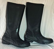Women's Sorel Waterproof Rubber Boots Size 6 Black      AR0497