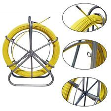 ECO Fish Tape Fiberglass Wire Cable Running Rod Duct Rodder Puller 6MM 130M