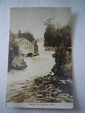 Vintage Postcard, Falls, St George, New Brunswick,Canada -1939-real photo
