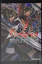 JAPAN Shin Onimusha Dawn Of Dreams Official Complete Guide (Book)