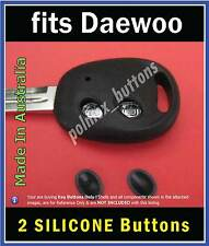 fits Daewoo Matiz Nubira remote key fob -2 repair Buttons