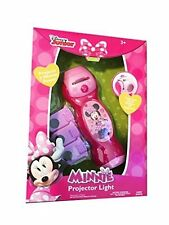 Minnie Mouse Disney Junior Projector flashlight with 3 film covers . NEW