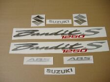 Bandit 1250S decals stickers graphics kit set autocollants adhesives 08 adhesivi