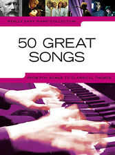 Learn 50 Really GREAT Easy Songs BEGINNER ABBA OASIS Piano Pop Book Music TUNES
