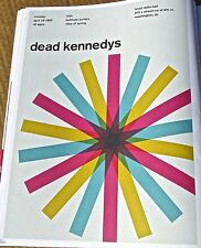 Dead Kennedy's Band  Mini Concert Poster Reprint-13x10 Unsigned Poster 1