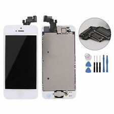 New White LCD Display Touch Screen Digitizer Assembly Replacement for iPhone 5