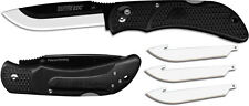 New Outdoor Edge Onyx EDC Replacement Blade Knife Black Model# OX-10