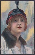 LYDA BORELLI 07 ATTRICE ACTRESS CINEMA SILENT MOVIE GENOVA Ill. F. SPOTTI 1918