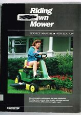 Riding Lawn Mower Service Manual 4th Edition