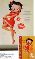 "BETTY BOOP Cartoon Character 42"" x 69-1/2"" Life Size REMOVABLE WALL STICKER New"
