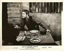 DON'T MESS WITH STEPHEN BOYD IN THE BRAVADOS ORIG WESTERN FILM STILL
