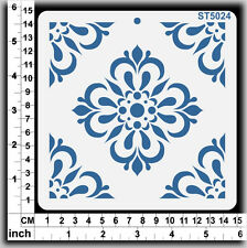 Stencils Templates Masks for Scrapooking, Cardmaking - Tile Pattern ST5024