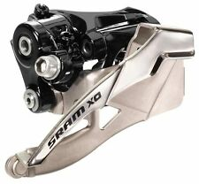 SRAM X0 3x10 Speed 38.2mm MTB Front Derailleur High Clamp Dual Pull XO X.0