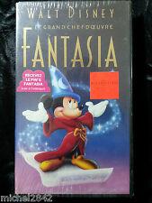 Fantasia Disney K7 video VHS dessin animée Neuf sous blister Musique classique