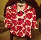 NWT AMY BYER Girls Jacket Foral Large