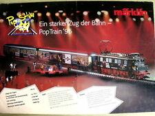 Depliant MARKLIN EIN Starker ZUG der BAHN Pop Train 95  -  DEU -  [TR.27]