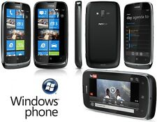 Nokia Lumia 610 3G GPS Bluetooth WiFi 8GB Internal Storage