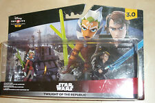 Disney Infinity 3.0 3 FIGURE STAR WARS TWILIGHT OF THE REPUBLIC SET CRYSTAL TANO
