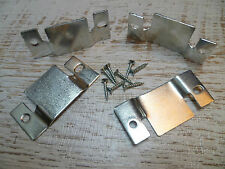 Sofa Furniture - Metal Clips/Connectors/Joiners/Brackets - 2 Sets + 8 Screws