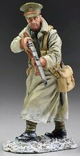 THOMAS GUNN WW1 BRITISH GW034B OFFICER IN TRENCH COAT WITH RIFLE WINTER MIB
