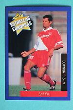 PANINI ESTRELLAS EUROPEAS 1996  N. 116 MONACO SCIFO MINT!!!