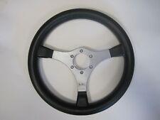 Rare Jackie Stewart MOMO Signature 350mm Steering Wheel In Silver